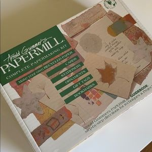 Complete Papermaking Kit Arnold Grummer's